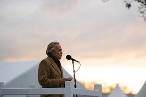 Charles Gordon-Lennox, 11th Duke of Richmond, formerly Lord March, makes a speech