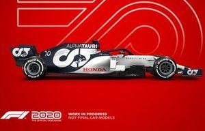 F1 2020, AlphaTauri