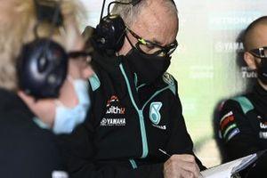 Petronas Yamaha team members