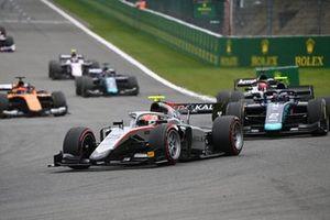 Luca Ghiotto, Hitech Grand Prix, devance Dan Ticktum, Dams