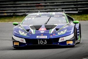 #163 Emil Frey Racing Lamborghini Huracan GT3 Evo: Giacomo Altoè, Albert Costa