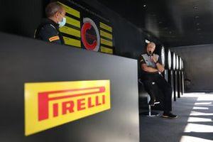 Terenzio Testoni, Capo reparto di Pirelli Rally e Stephen Rowe, capo sezione sviluppo prodotto Pirelli