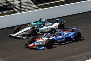 James Davison, Dale Coyne Racing w/ Rick Ware Racing, Byrd & Belardi Honda and Fernando Alonso, Arrow McLaren SP Chevrolet