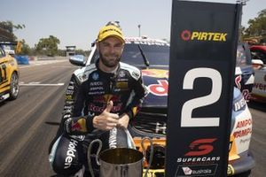 Second place Shane van Gisbergen, Triple Eight Race Engineering