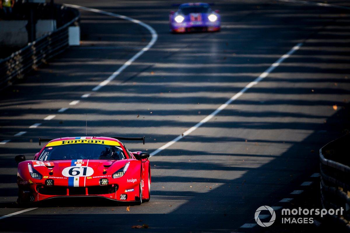 #61 Luzich Racing Ferrari 488 GTE Evo: Francesco Piovanetti, Oswaldo Negri Jr., Come Ledogar