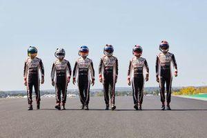 #7 Toyota Gazoo Racing: Mike Conway, Kamui Kobayashi, Jose Maria Lopez / #8 Toyota Gazoo Racing: Sebastien Buemi, Kazuki Nakajima, Brendon Hartley