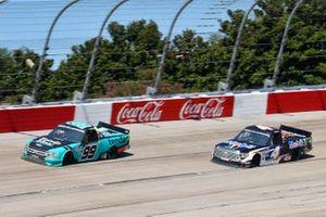 Ben Rhodes, ThorSport Racing, Ford F-150 Tenda, Raphael Lessard, Kyle Busch Motorsports, Toyota Tundra Mobil 1