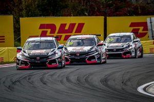 Esteban Guerrieri, ALL-INKL.COM Münnich Motorsport Honda Civic TCR, Tiago Monteiro, ALL-INKL.DE Münnich Motorsport Honda Civic TCR, Nestor Girolami, ALL-INKL.COM Münnich Motorsport Honda Civic TCR