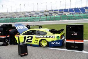 Ryan Blaney, Team Penske, Ford Mustang Menards/Moen