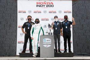 Colton Herta, Andretti Harding Steinbrenner Autosport Honda, Michael Andretti, George Steinbrenner, Mike Harding