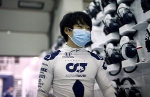Yuki Tsunoda, Honda Formula Dream Project in the garage