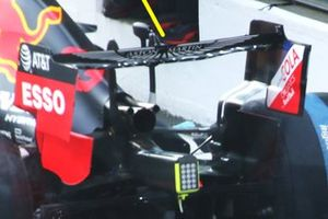 Red Bull Racing RB16, dettaglio dell'ala posteriore
