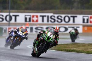 Jonathan Rea, Kawasaki Racing Team, Loris Baz, Ten Kate Racing Yamaha