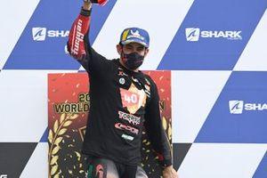 Le champion 2020 de MotoE, Jordi Torres, Pons Racing 40 sur le podium