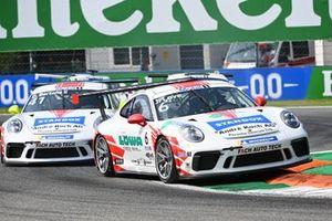 Jordan Love, Fach Auto Tech, devant Diego Bertonelli, Fach Auto Tech