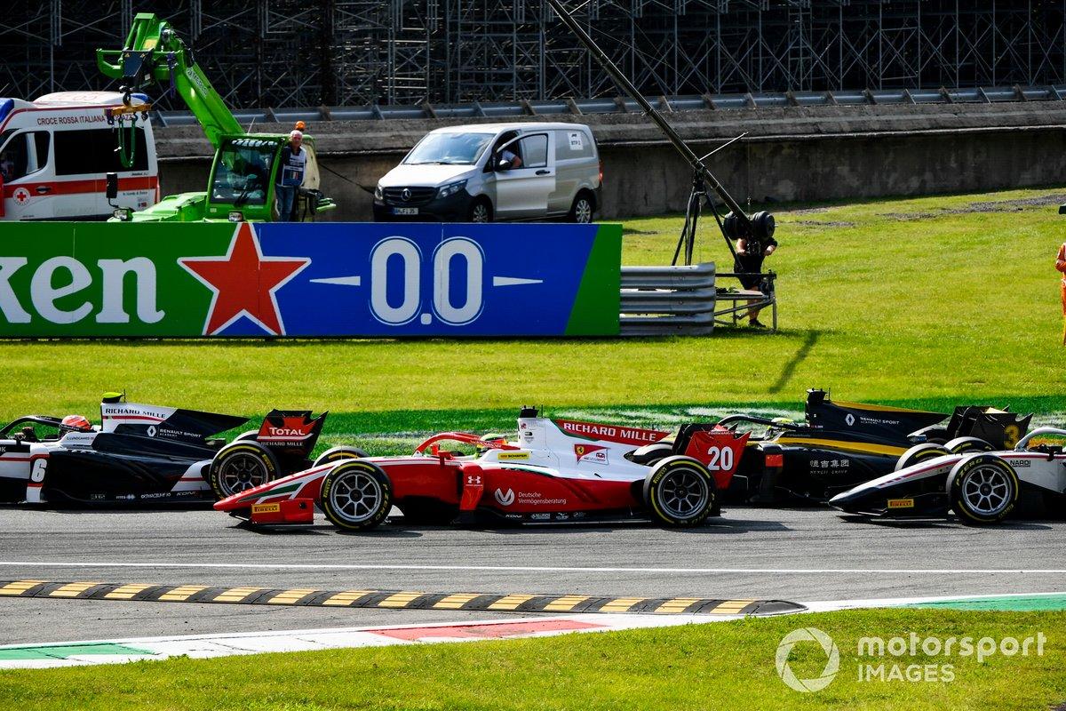 Mick Schumacher, Prema Racing en la salida