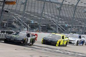 Riley Herbst, Joe Gibbs Racing, Toyota Supra Monster Energy, Brandon Jones, Joe Gibbs Racing, Toyota Supra Menards/Pelonis
