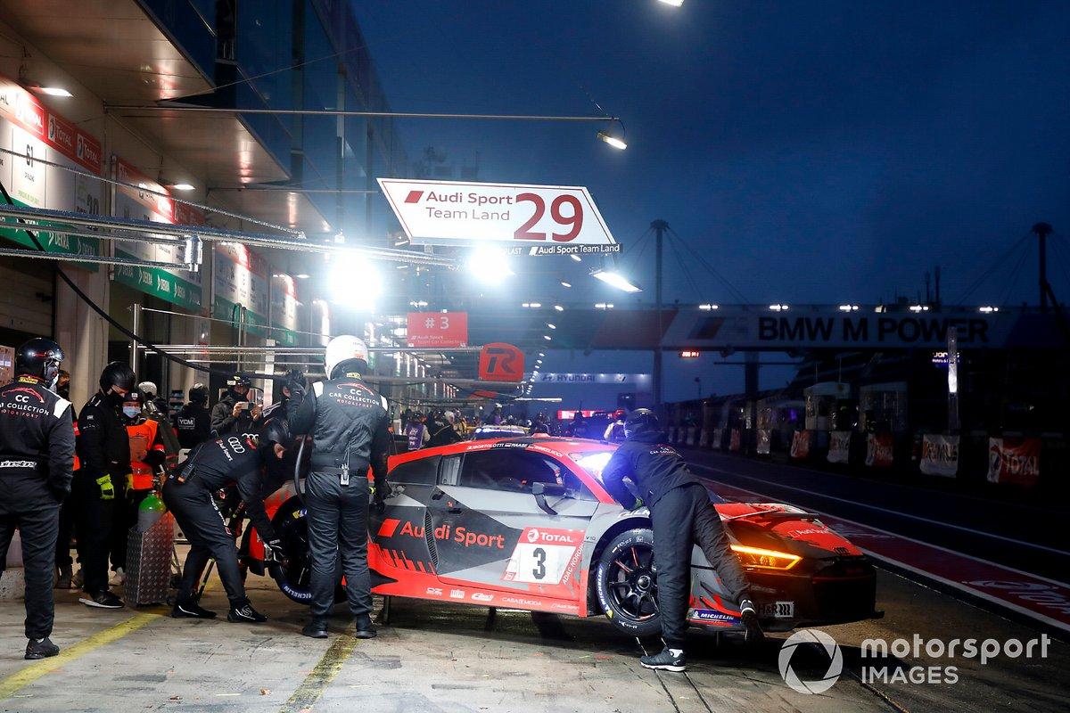 #3 Audi Sport Team Car Collection Audi R8 LMS GT3: Mirko Bortolotti, Robin Frijns, Markus Winkelhock