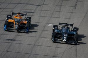 Tony Kanaan, A.J. Foyt Enterprises Chevrolet, Oliver Askew, Arrow McLaren SP Chevrolet
