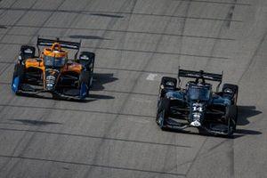 Tony Kanaan, A.J. Foyt Enterprises Chevrolet, Oliver Askew, Arrow McLaren SP Chevrolet