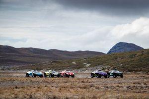 Start of the Artic X Prix final race