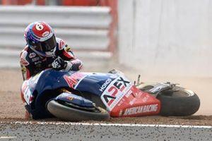 Sturz: Cameron Beaubier, Tennor American Racing