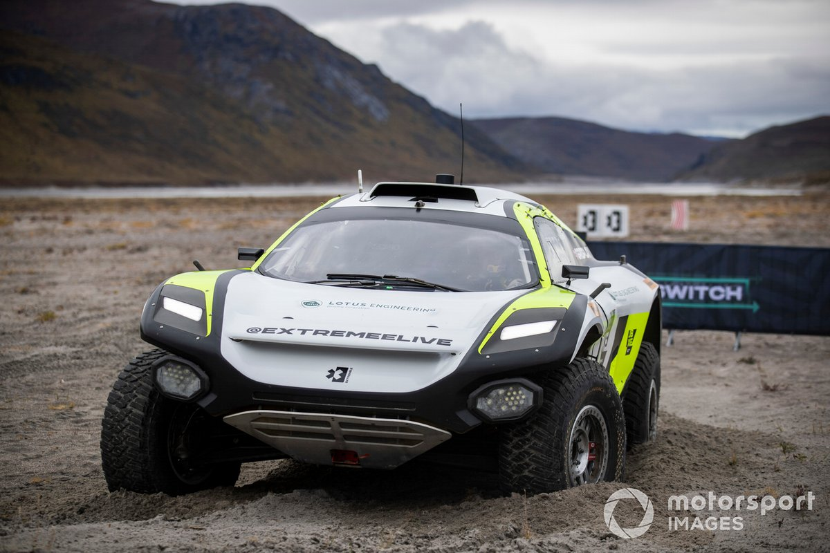 Mikaela Ahlin-Kottulinsky/Kevin Hansen, JBXE Extreme-E Team
