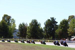 Manuel Gonzalez, Yamaha ParkinGO Team, Randy Krummenacher, CM Racing, Philipp Oettl, Kawasaki Puccetti Racing