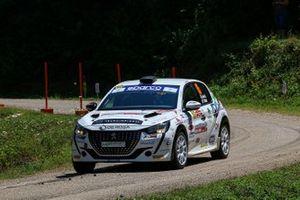 Lucchesi JR, Titti Ghilardi, Peugeot 208 RC4