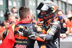 Remy Gardner, Red Bull KTM Ajo, Raul Fernandez, Red Bull KTM Ajo race