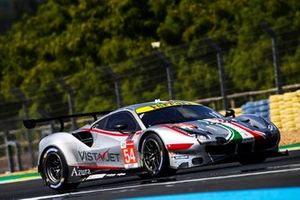 #54 AF Corse Ferrari 488 GTE EVO LMGTE Am of Thomas Flohr, Giancarlo Fisichella, Francesco Castellacci