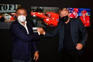 Jean Alesi and Steven Tee