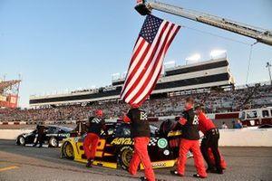 Brad Keselowski, Team Penske, Ford Mustang Western Star, Ryan Blaney, Team Penske, Ford Mustang Advance Auto Parts