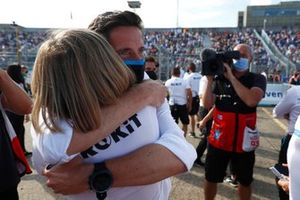 Susie Wolff, Team Principal, Venturi Racing, Ian James, Team Principal, Mercedes-Benz EQ
