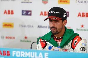 Lucas Di Grassi, Audi Sport ABT Schaeffler, primo classificato, in conferenza stampa