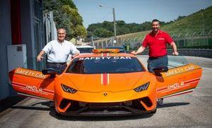 Roberto Marazzi, Uberto Selvatico Estense, Lamborghini Huracan Performante Safety Car