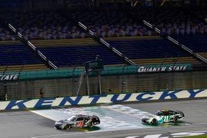 Noah Gragson, JR Motorsports, Chevrolet Camaro Switch and Justin Haley, Kaulig Racing, Chevrolet Camaro LeafFilter Gutter Protection