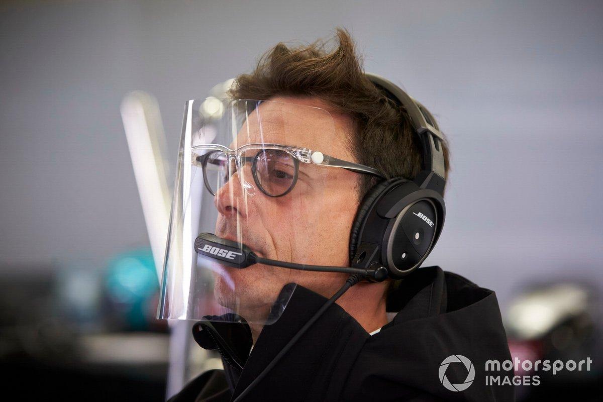 Toto Wolff, director de Mercedes