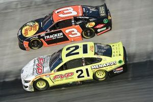 Matt DiBenedetto, Wood Brothers Racing, Ford Mustang, Austin Dillon, Richard Childress Racing, Chevrolet Camaro