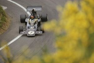 Emerson Fittipaldi, Lotus 72D Ford, during practice