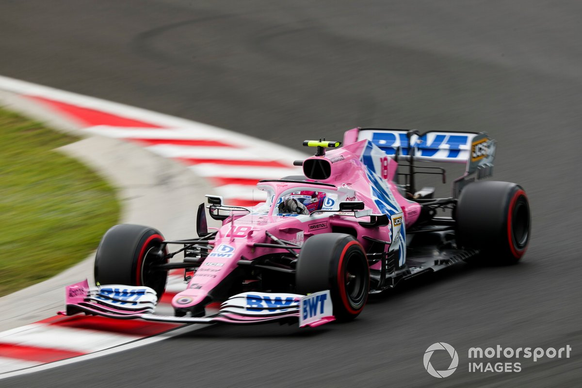 P3 Lance Stroll, Racing Point RP20