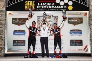 #31 Whelen Engineering Racing Cadillac DPi, DPi: Pipo Derani, Felipe Nasr, podium