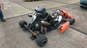 Honda Fireblade Powered Kart