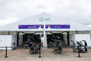 Mercedes Benz EQ garage
