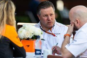Zak Brown, CEO of McLaren Racing