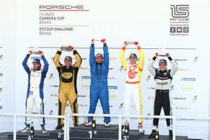 Primeiro pódio do ano - GT3 Cup - Porsche