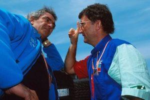 Flavio Briatore y Eddie Jordan