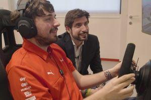 Amos Laurito, pilota esport Ferrari