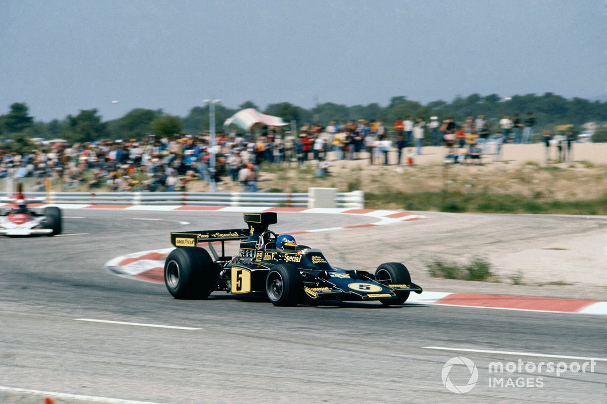 Ronnie Peterson, Lotus 72E