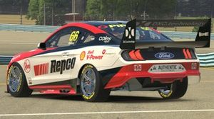 Render of Aaron Seton's DJR Team Penske Ford Mustang